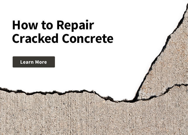How to Repair Cracked Concrete