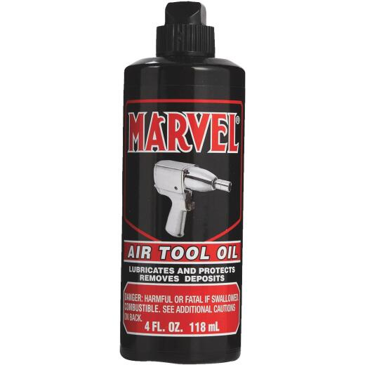 Marvel 4 Oz. Pneumatic Air Tool Oil