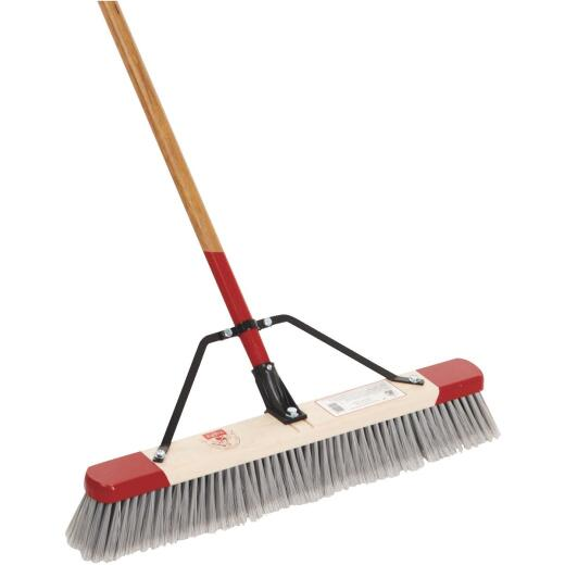 Harper 24 In. W. x 64 In. L. Wood Handle Fine Sweep Push Broom