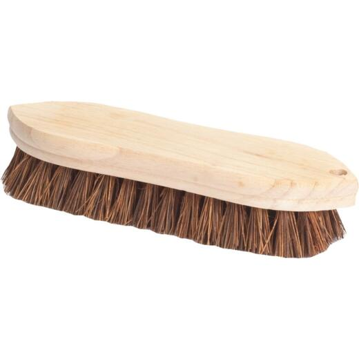 Do it 9 In. Palmyra Bristle Hardwood Scrub Brush