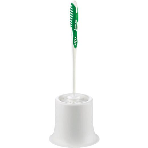 Libman 16.75 In. Toilet Bowl Brush & Caddy