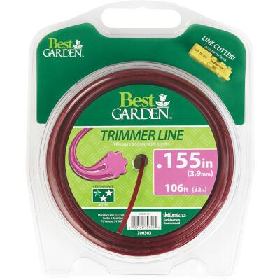 Best Garden 0.155 In. x 106 Ft. 7-Point Trimmer Line
