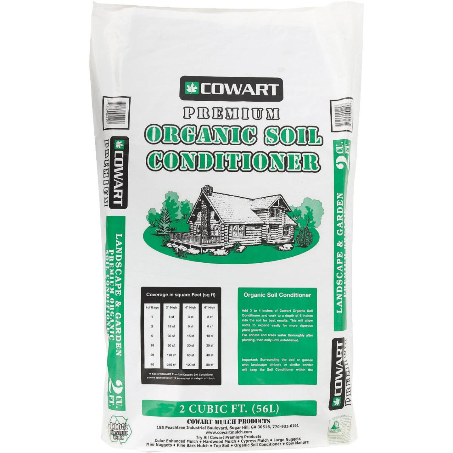 Cowart Sugar Hill 50 Lb. 2 Cu. Ft. Coverage Organic Soil Conditioner Image 1