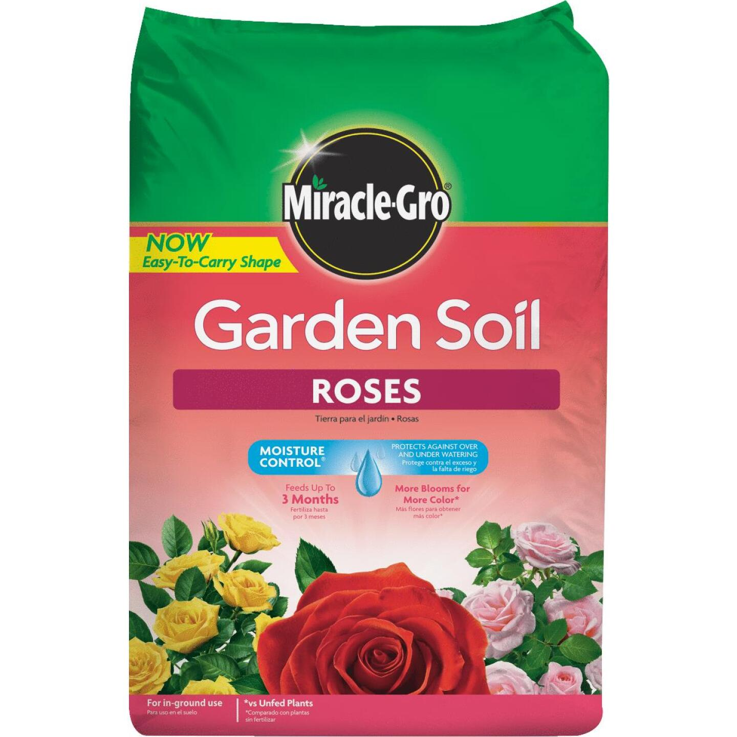 Miracle-Gro 1.5 Cu. Ft. 49 Lb. In-Ground Rose Garden Soil Image 1