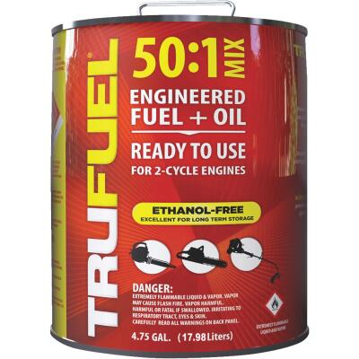 TruFuel 4.75 Gal. 50:1 Ethanol-Free Small Engine Fuel & Oil Pre-Mix
