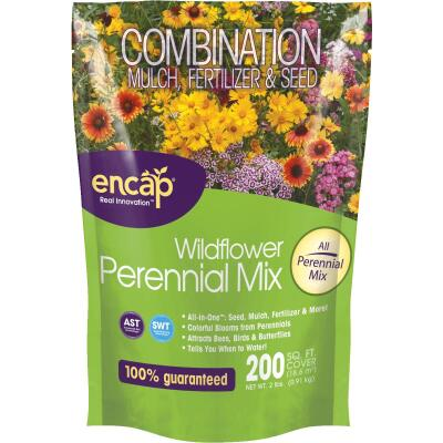 Encap All-In-One 2 Lb. 200 Sq. Ft. Coverage Perennial Wildflower Seed Mix