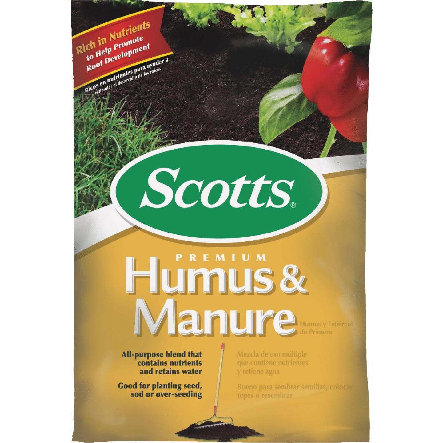 Scotts 43 Lb. 0.75 Cu. Ft. Humus & Manure Image 1