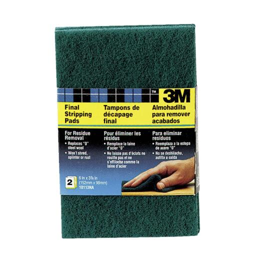 3M 3-1/2 In. x 6 In. Heavy-Duty Final Stripping Pad (2 Count)